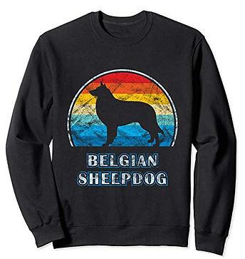 Vintage-Design-Sweatshirt-Belgian-Sheepd