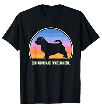 Vintage-Sunset-tshirt-Norfolk-Terrier.jp