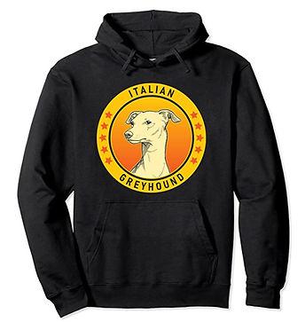 Italian-Greyhound-Portrait-Yellow-Hoodie