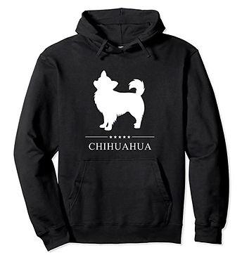 Chihuahua-Longhaired-White-Stars-Hoodie.