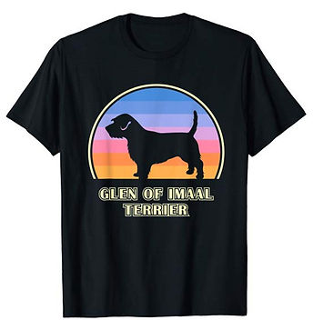 Vintage-Sunset-tshirt-Glen-of-Imaal-Terr