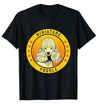 Miniature-Poodle-Portrait-Yellow-tshirt.
