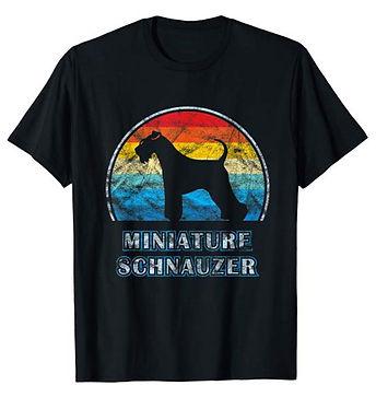 Vintage-Design-tshirt-Miniature-Schnauze