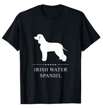 Irish-Water-Spaniel-White-Stars-tshirt.j