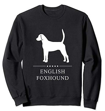 White-Stars-Sweatshirt-English-Foxhound.
