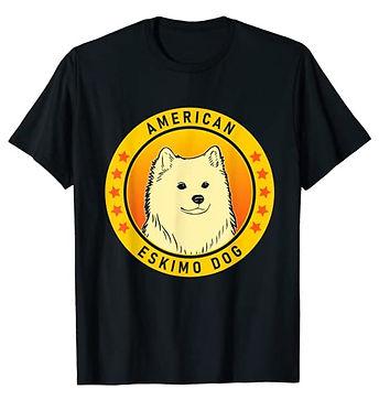 American-Eskimo-Dog-Portrait-Yellow-tshi