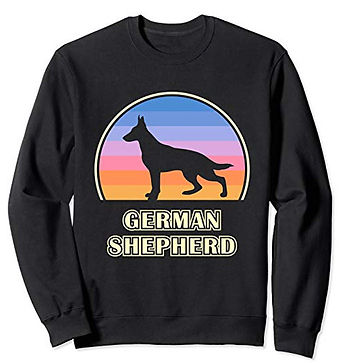 Vintage-Sunset-Sweatshirt-German-Shepher