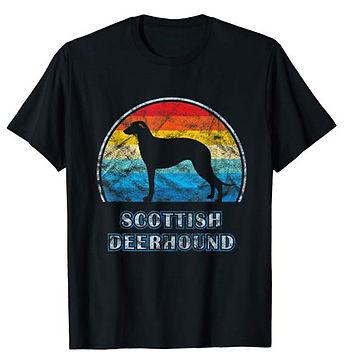Vintage-Design-tshirt-Scottish-Deerhound