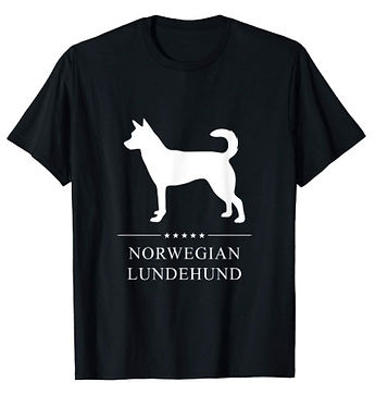 Norwegian-Lundehund-White-Stars-tshirt.j