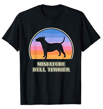 Vintage-Sunset-tshirt-Miniature-Bull-Ter