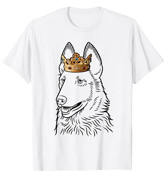 Belgian-Laekenois-Crown-Portrait-tshirt.