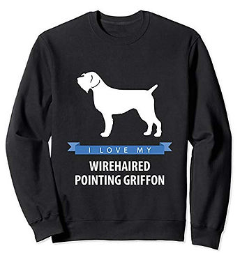 White-Love-sweatshirt-Wirehaired-Pointin