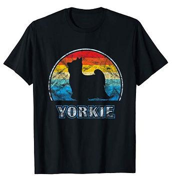 Vintage-Design-tshirt-Yorkshire-Terrier.