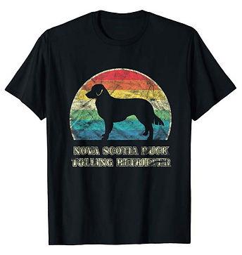 Vintage-Dog-tshirt-Nova-Scotia-Duck-Toll