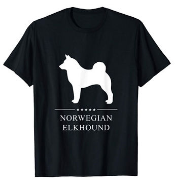 Norwegian-Elkhound-White-Stars-tshirt.jp