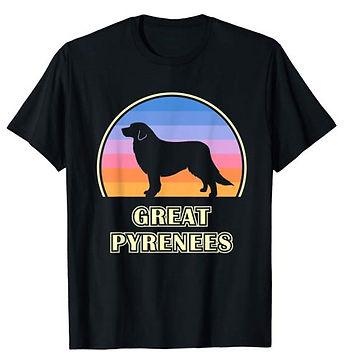 Vintage-Sunset-tshirt-Great-Pyrenees.jpg