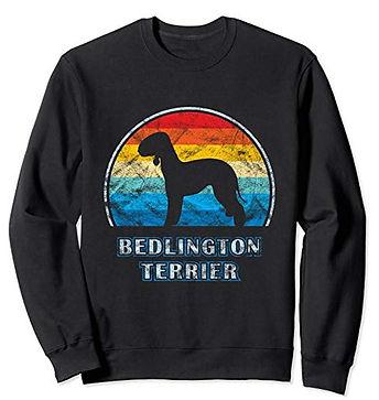 Vintage-Design-Sweatshirt-Bedlington-Ter
