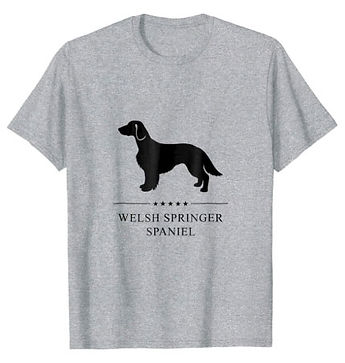 Welsh-Springer-Spaniel-Black-Stars-tshir