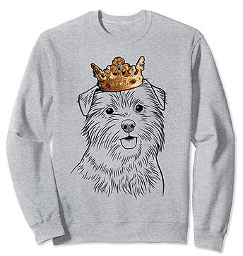 Norfolk-Terrier-Crown-Portrait-Sweatshir