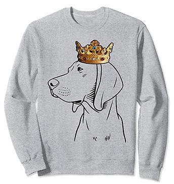 Redbone-Coonhound-Crown-Portrait-Sweatsh