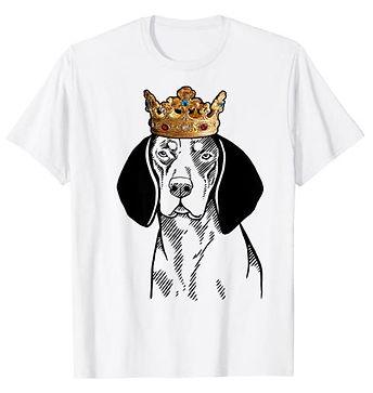 Bluetick-Coonhound-Crown-Portrait-tshirt