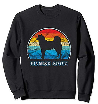 Vintage-Design-Sweatshirt-Finnish-Spitz.