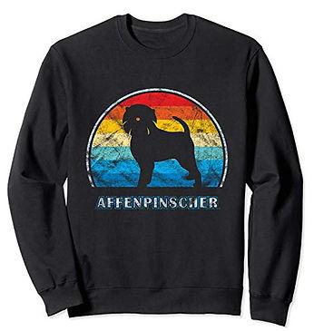 Vintage-Design-Sweatshirt-Affenpinscher.