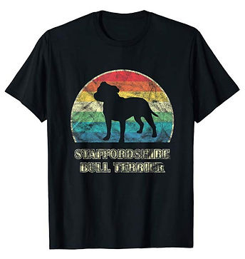 Vintage-Dog-tshirt-Staffordshire-Bull-Te