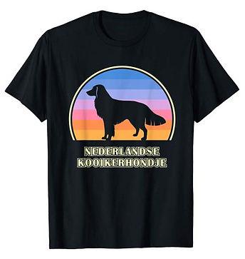 Vintage-Sunset-tshirt-Nederlandse-Kooike