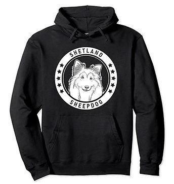 Shetland-Sheepdog-Portrait-BW-Hoodie.jpg