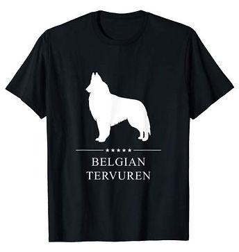 Belgian-Tervuren-White-Stars-tshirt-big.