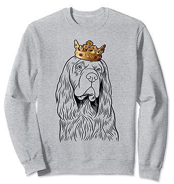 Sussex-Spaniel-Crown-Portrait-Sweatshirt