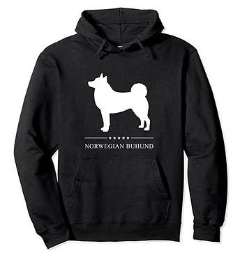 Norwegian-Buhund-White-Stars-Hoodie.jpg