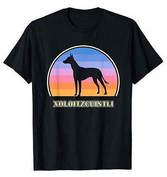 Vintage-Sunset-tshirt-Xoloitzcuintli.jpg