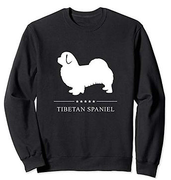 White-Stars-Sweatshirt-Tibetan-Spaniel.j