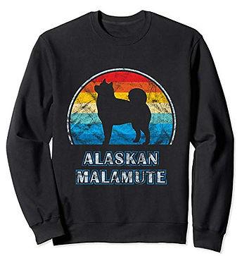 Vintage-Design-Sweatshirt-Alaskan-Malamu