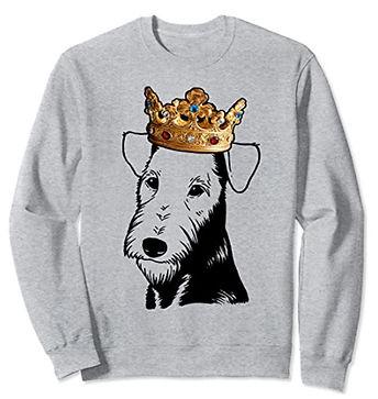 Airedale-Terrier-Crown-Portrait-Sweatshi