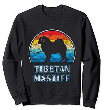 Vintage-Design-Sweatshirt-Tibetan-Mastif