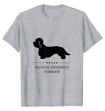 Dandie-Dinmont-Terrier-Black-Stars-tshir