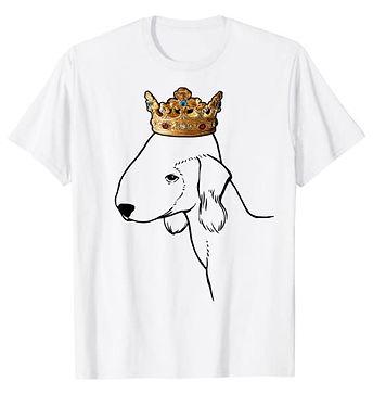 Bedlington-Terrier-Crown-Portrait-tshirt