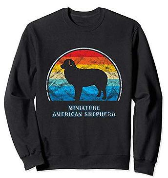 Vintage-Design-Sweatshirt-Miniature-Amer