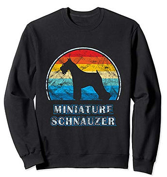 Vintage-Design-Sweatshirt-Miniature-Schn