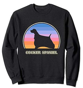 Vintage-Sunset-Sweatshirt-Cocker-Spaniel