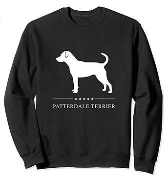 Patterdale-Terrier-White-Stars-Sweatshir