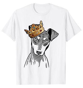 Manchester-Terrier-Crown-Portrait-tshirt