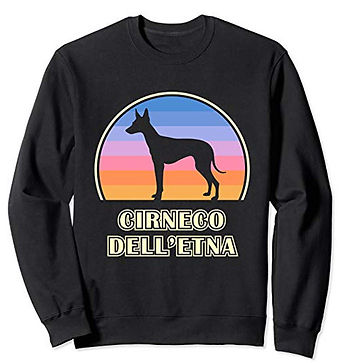 Vintage-Sunset-Sweatshirt-Cirneco-dell'E