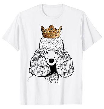 Miniature-Poodle-Crown-Portrait-tshirt.j