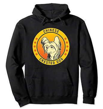Chinese-Crested-Dog-Portrait-Yellow-Hood