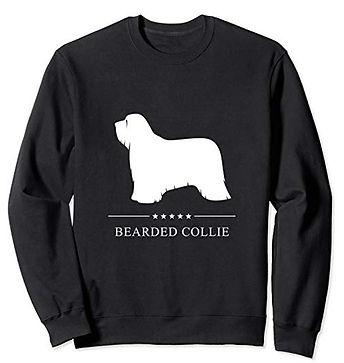 White-Stars-Sweatshirt-Bearded-Collie.jp