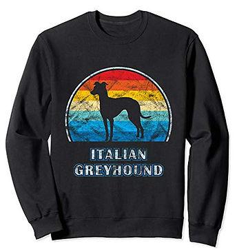 Vintage-Design-Sweatshirt-Italian-Greyho